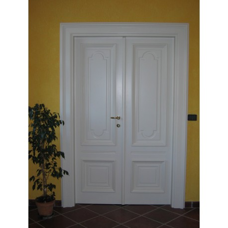Porta A Due Battenti.Porta Interna Pantografata Giorgis