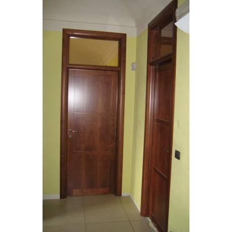 Porta interna tamburata con sopraluce giorgis - Sopraluce porta ...