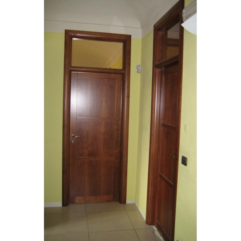 Porta interna tamburata con sopraluce giorgis - Porta tamburata ...